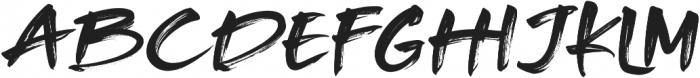 Rocked otf (400) Font UPPERCASE