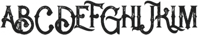 Rocket 2 Grunge otf (400) Font UPPERCASE