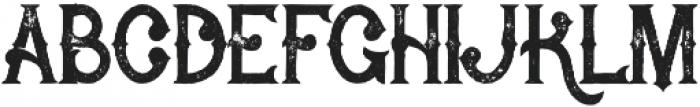 Rocket 2 Grunge otf (400) Font LOWERCASE