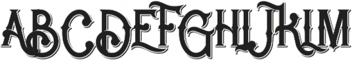 Rocket 2 Shadow otf (400) Font UPPERCASE