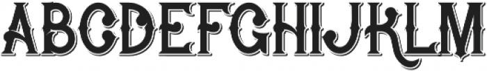 Rocket 2 Shadow otf (400) Font LOWERCASE