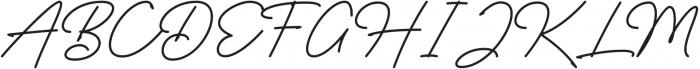 Rocket Clouds Alt otf (400) Font UPPERCASE