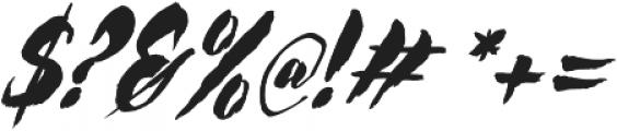 Rocket Italic otf (400) Font OTHER CHARS