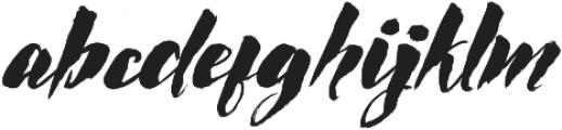 Rocket Italic otf (400) Font LOWERCASE