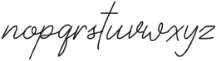 Rocketto otf (400) Font LOWERCASE