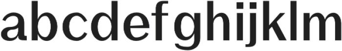 Rockley otf (700) Font LOWERCASE