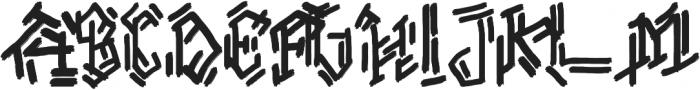 Roemah Hunian otf (400) Font UPPERCASE