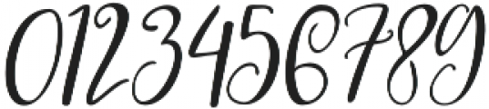 Roes Blues Italic Regular otf (400) Font OTHER CHARS
