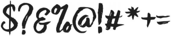 RofiTaste otf (400) Font OTHER CHARS