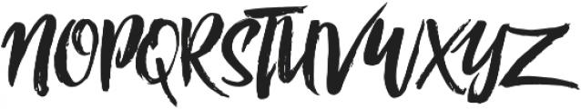 RofiTaste otf (400) Font UPPERCASE