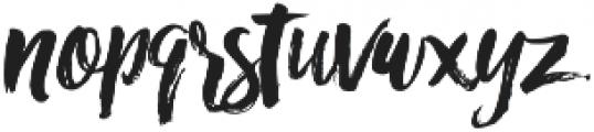 RofiTaste otf (400) Font LOWERCASE