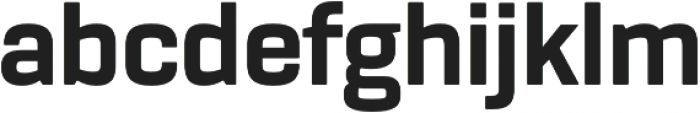 Rogan ExtraBold otf (700) Font LOWERCASE