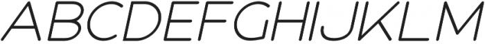 Roger Bold Italic otf (700) Font LOWERCASE
