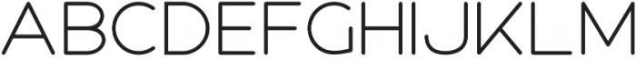 Roger Bold otf (700) Font LOWERCASE