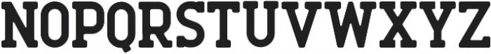 Roger Serif Bold otf (700) Font UPPERCASE
