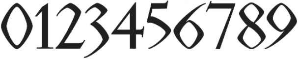 Rojenstone Regular otf (400) Font OTHER CHARS
