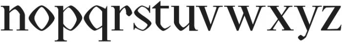 Rojenstone Regular otf (400) Font LOWERCASE
