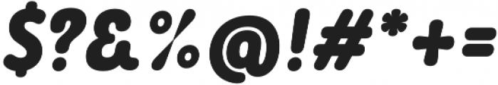 Rolade Italic Black otf (900) Font OTHER CHARS