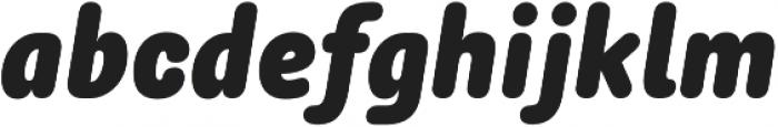 Rolade Italic Black otf (900) Font LOWERCASE