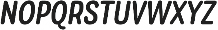 Rolade Italic Medium otf (500) Font UPPERCASE