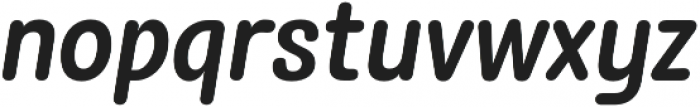 Rolade Italic Medium otf (500) Font LOWERCASE