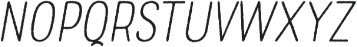 Rolade Rough Thin Italic otf (100) Font UPPERCASE
