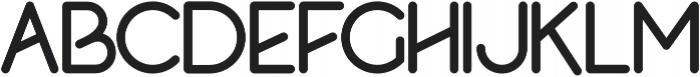 Rolas Sans Bold otf (700) Font UPPERCASE