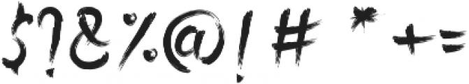 Rolingline otf (400) Font OTHER CHARS