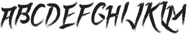 Rolingline otf (400) Font UPPERCASE