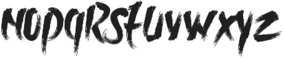 Rolingline otf (400) Font LOWERCASE