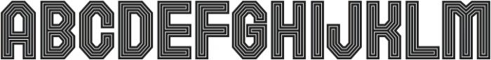 Rolla regular otf (400) Font UPPERCASE
