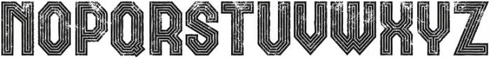 Rolla retro otf (400) Font LOWERCASE