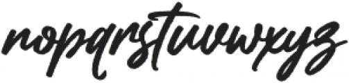 Rollanda otf (400) Font LOWERCASE