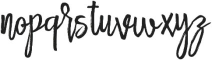 Rollason otf (400) Font LOWERCASE