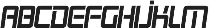 Roller Bold-Italic otf (700) Font UPPERCASE