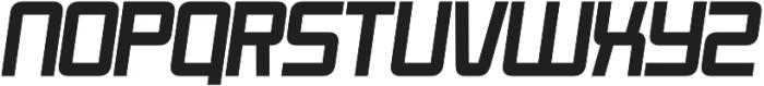 Roller Bold-Italic otf (700) Font LOWERCASE