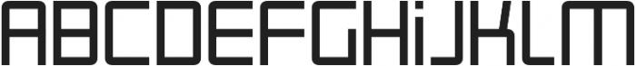 Roller otf (400) Font LOWERCASE