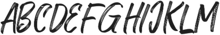 Rollete Qaku Uppercase otf (400) Font LOWERCASE