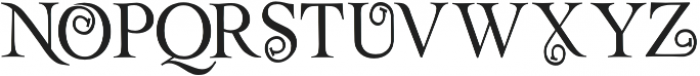 Rollex II otf (400) Font UPPERCASE