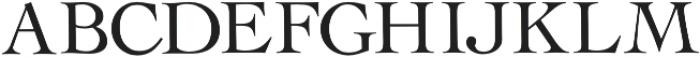 Rollex II otf (400) Font LOWERCASE