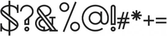 Rollfast Regular otf (400) Font OTHER CHARS