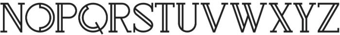 Rollfast Regular otf (400) Font UPPERCASE