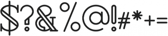 Rollfast Rounded otf (400) Font OTHER CHARS