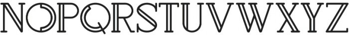 Rollfast Rounded otf (400) Font UPPERCASE