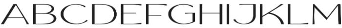 Rollgates Victoria otf (400) Font UPPERCASE