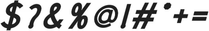 Rolves Bold Italic otf (700) Font OTHER CHARS