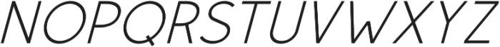 Rolves Italic otf (400) Font UPPERCASE