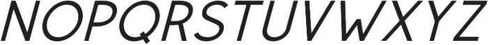 Rolves Semibold Italic otf (600) Font UPPERCASE