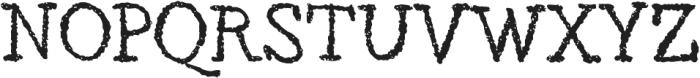 Roman otf (400) Font UPPERCASE