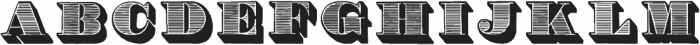 RomanOrnamented Regular ttf (400) Font UPPERCASE
